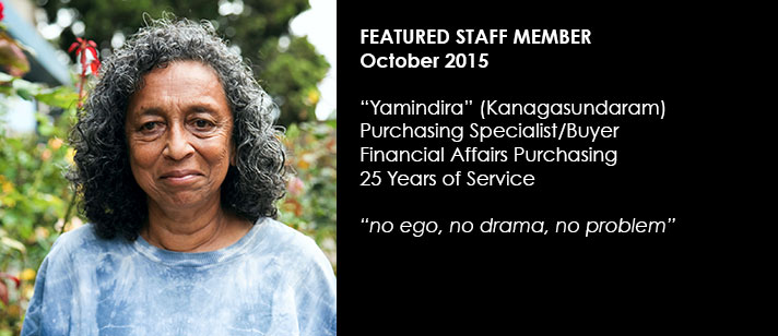 Featured Staff November 2015