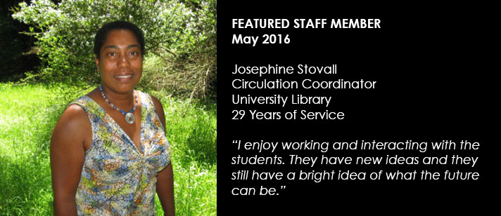 Featured Staff June 2016