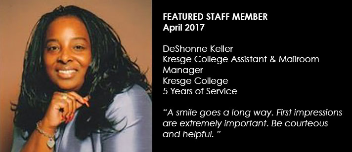Featured Staff June 2017