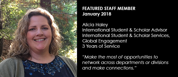Featured Staff March 2018