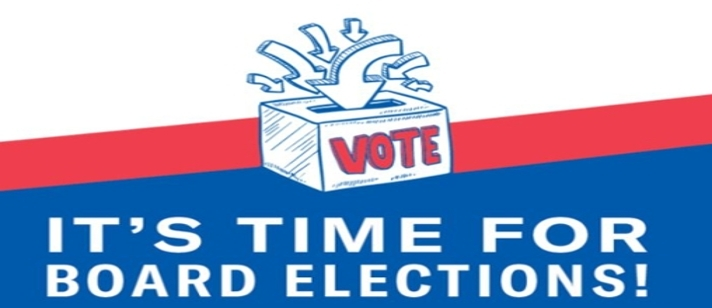 It's time to vote for board elections
